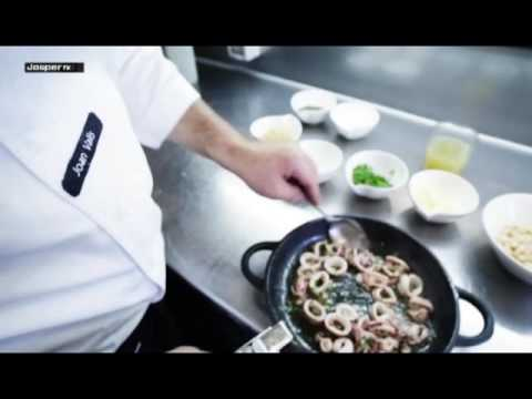 Video Calamari sauté with beans Charcoal oven - Engels
