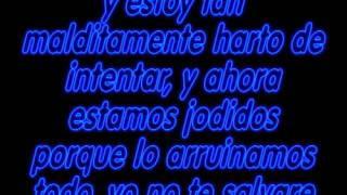 Dry Your Eyes - Angels & Airwaves (Traducida al Español)