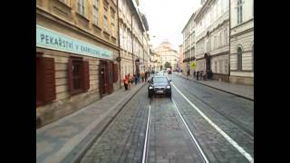 preview picture of video 'Prague Tramways Route 22 Nádraží Hostivař to Bílá Hora'