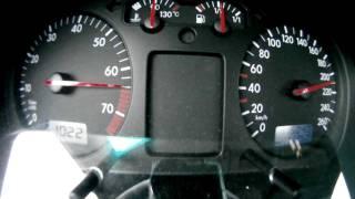 VW Golf IV 1.6 16V 77kW/105PS || 0-210 km/h || 0-100 km/h in 12,9 sek.