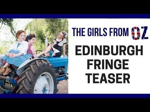 The Girls From Oz - Edinburgh Fringe Teaser