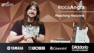 #tocaAngra | Reaching Horizons - Angra (aula de violão)