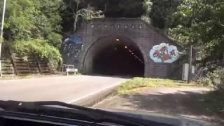 旧道徘徊 R311明神滝トンネル周辺 パジェロミニ