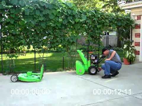 Best LawnCombine Snowblower Lawnmower Combo