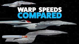 Warp Speed Comparison