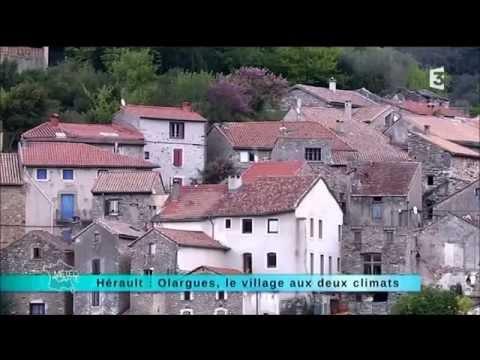 Olargues Le Village à deux climats