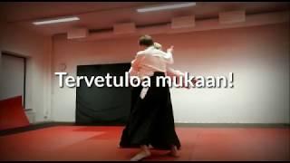 Tervetuloa mukaan harjoittelemaan aikidoa!
