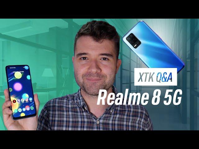 Realme 8 5G Q&A: UNA GRAN BATERÍA Y 5G A BUEN PRECIO | Resolvemos todas las dudas