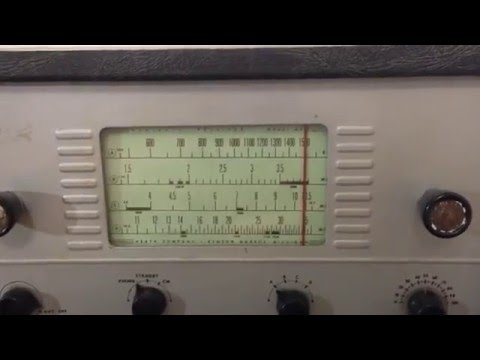 My Dad's recently restored Heathkit Mohican GC-1A Receiver