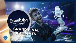 Highlights of the Grand Final of the 2019 Eurovision Song Contest