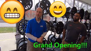 GRAND OPENING! New Tire Shop!