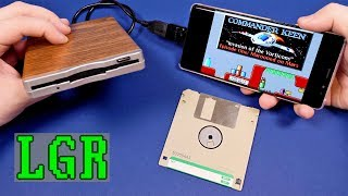 LGR - Using a Floppy Disk Drive on a Smartphone