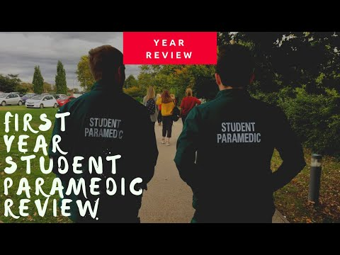 Year One Reflection | Student Paramedic | Paramedic Science Placement & tips for university