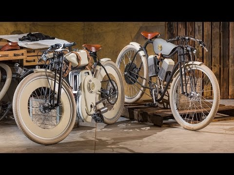 Motorised Bike Hides 21st-Century Tech With Turn-Of-The-Century Style