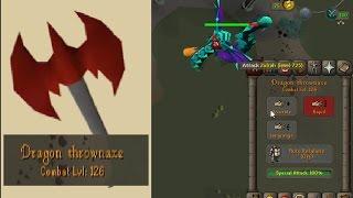 Using Dragon Thrown Axe Spec At Zulrah!!!