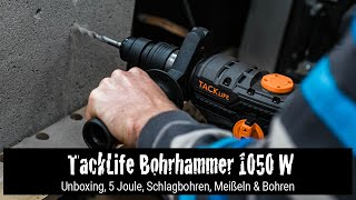Tool Review: Tacklife Bohrhammer