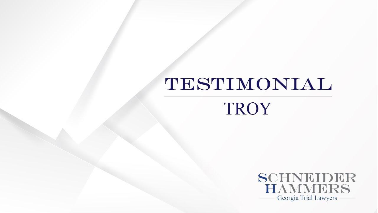 Testimonials Troy
