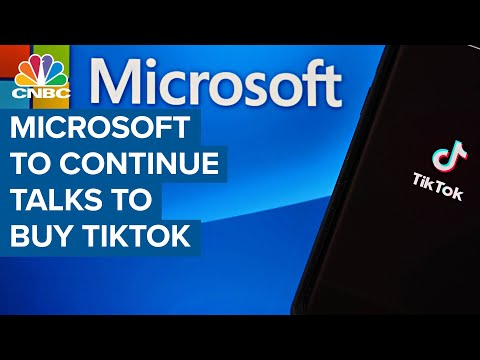 Microsoft to continue talks to buy TikTok after conversation with President Donald Trump