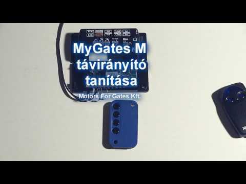 MyGates M távirányító programozása