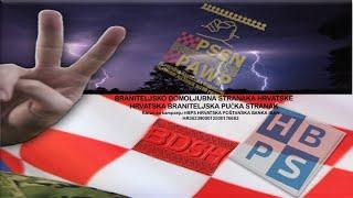 Izbor zastupnika za Hrvatski sabor 2020. Predstavljanje HBPS i BDSH