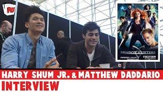Harry Shum Jr. & Matthew Daddario - Shadowhunters Interview - NYCC 2015