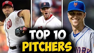 Top 10 Starting Pitchers For The 2019 MLB Season