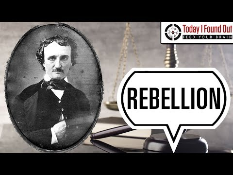 Edgar Allan Poe and His Quest to be Court Martialed