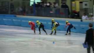 少年男子1000m準決勝2組-第68回国民体育大会冬季大会ショートトラック