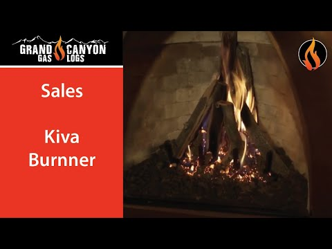 Grand Canyon Gas Logs - Kiva Burner