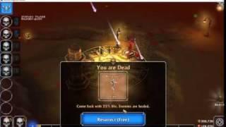Eternium v1 2 49 - Warrior fight last boss Elban    - Самые