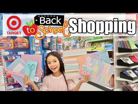 6ecbd1b6278 SCHOOL SUPPLIES SHOPPING 2017 VLOG ZCbeauty. play. BACK TO SCHOOL SHOPPING  AT TARGET play