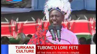 DP Dr. William Ruto unleashes more development promises to the people of Turkana