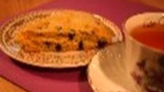 Orange Black Currant Scones: Come For Tea #32