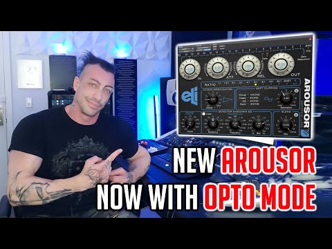 Arousor v3: Distressor plug-in gets 2 Opto modes, on sale at USD 70 off
