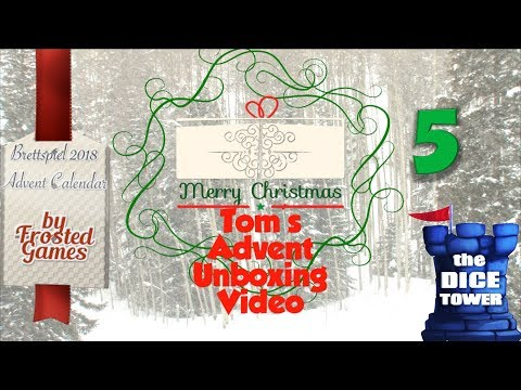 Tom's Advent Calendar Unboxing Video - December 5, 2018