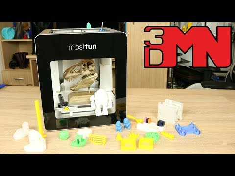 MostFun Pro 3D Printer Review