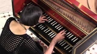 Haydn Harpsichord : Elaine Comparone plays Minuet, Sonata in E-Flat Major, # 49