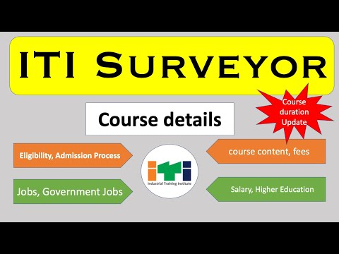 full detail ITI surveyor course- career connections - YouTube