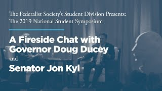 Click to play: A Fireside Chat with Governor Doug Ducey and Senator Jon Kyl
