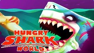 NEW ZOMBIE MEGALODON SHARK! Hungry Shark World Biggest Shark Update! EPIC NEW SHARK ABILITY!