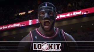 Supercut of LeBron's masked Knicks thrashing (Lookit) thumbnail