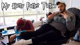 My Harry Potter Tattoo | The Deathly Hallows Tattoo
