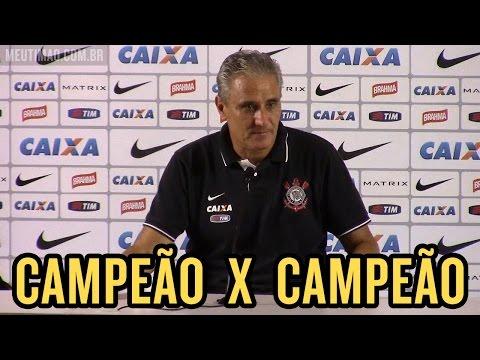 Tite confirma equipe titular em coletiva após treino desta quarta, na Arena Corinthians