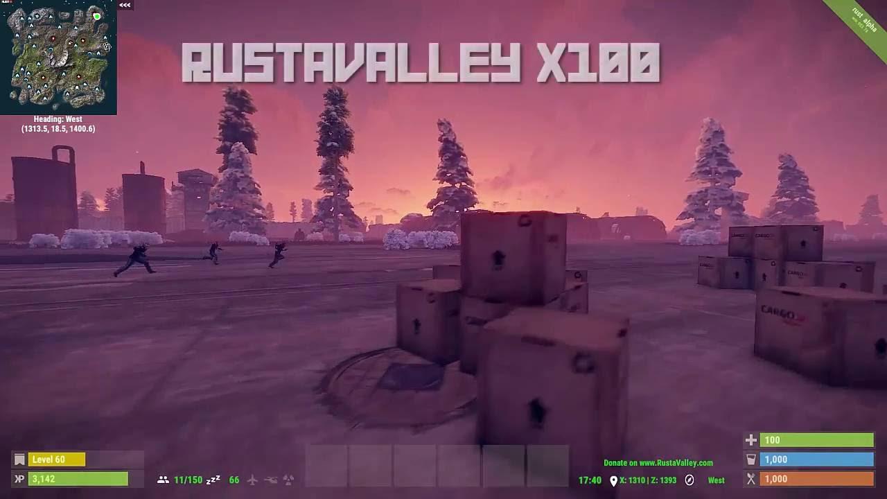RustaValley x100 Server Intro