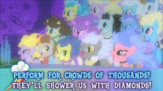 MLP:FiM BGM: At The Gala ( Instrumental / Karaoke )