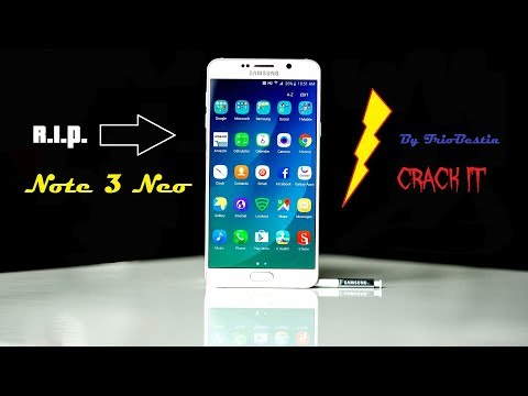 DISTRUZIONE Di Un Samsung Galaxy Note 3 Neo!!! Mp3