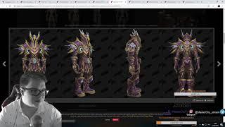 [World of Warcraft] Датамайн патча 8.1. СПОЙЛЕРЫ!!! Новая броня. Кто боссы.