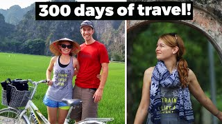 300 DAY recap of FULL TIME TRAVEL | 52 countries