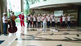 2016 Christmas Carols at HPE Cyberjaya - Feliz Navidad