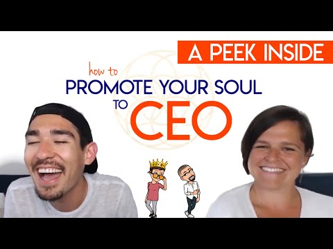 A Peek Inside: How to Promote Your Soul to CEO | 7-Week Business Course